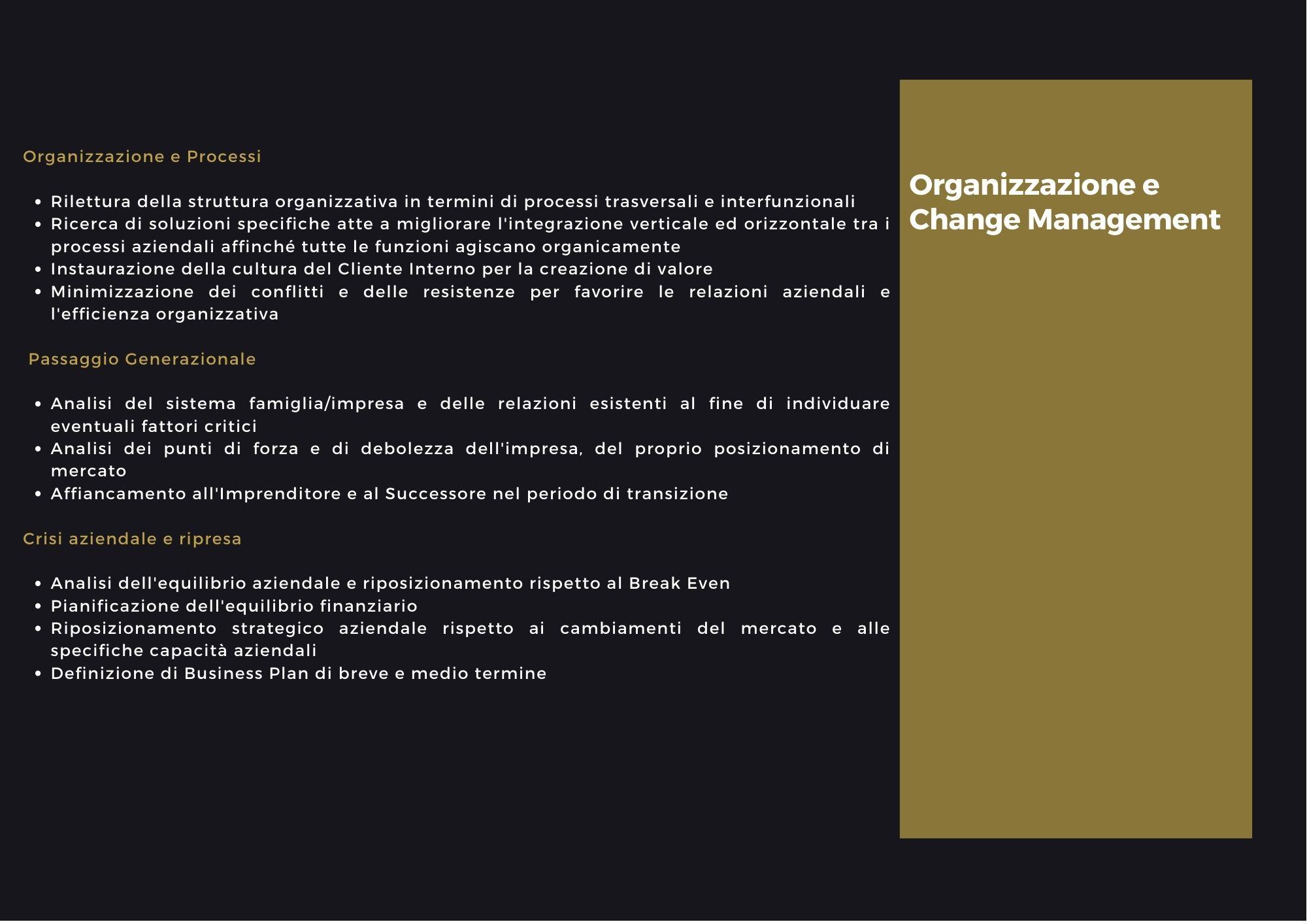 Elyka consulenza organizzativa